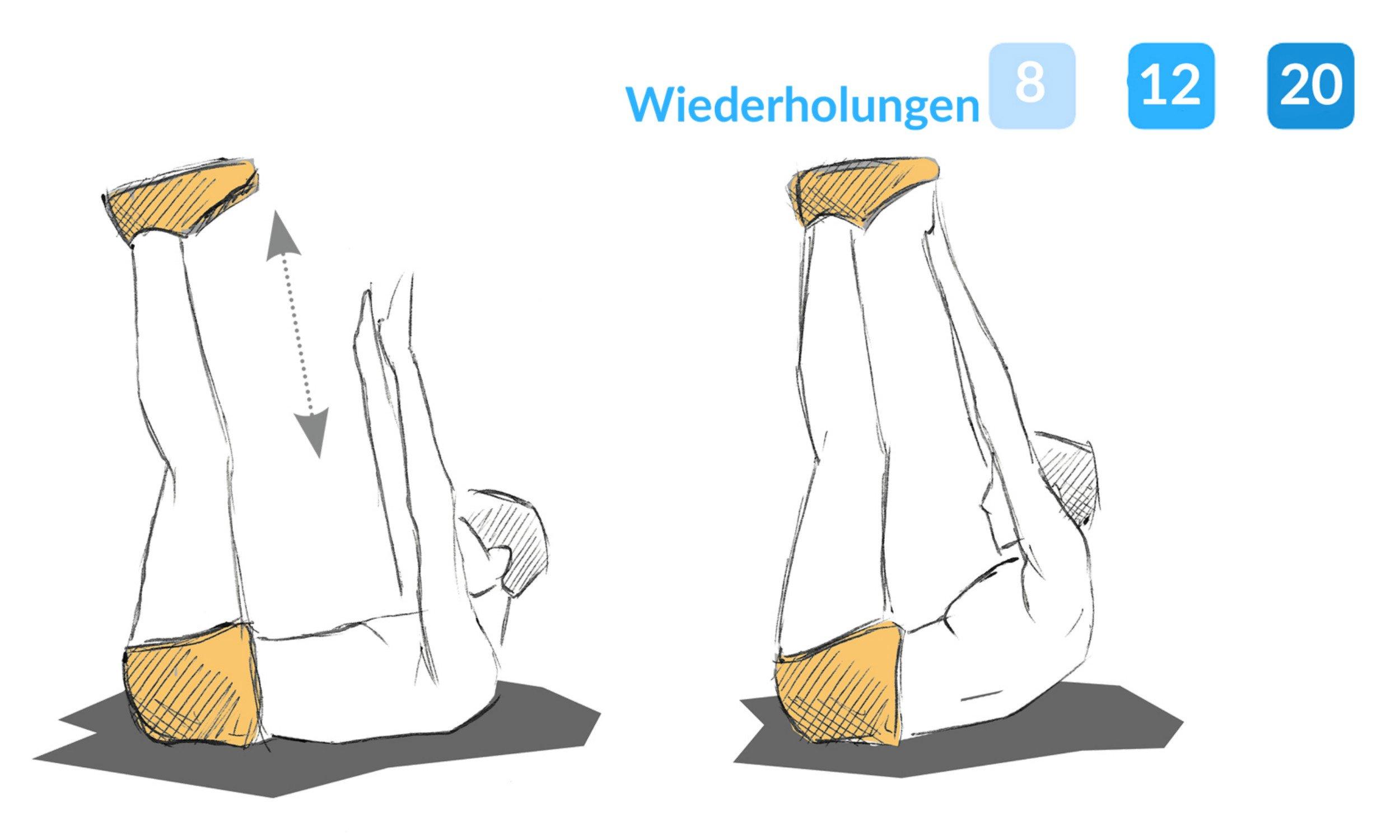 """Beschreibung der Übung """"Kirschenpflücken""""."""