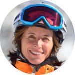 Ingrid Salvenmoser ist Ski-Schulleiterin in Scheuffau am Wilden Kaiser.