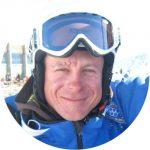 Simon Lauriola ist Skilehrer bei der Skischule Neustift Olympia im Stubaital.