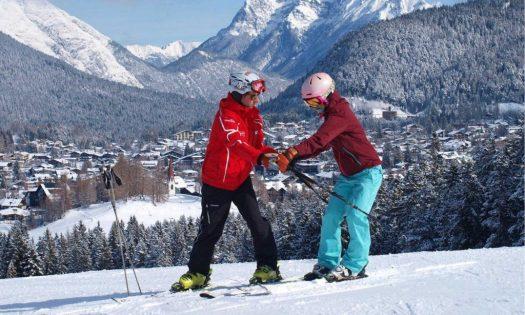 Anfänger Skikurs in Seefeld in Tirol