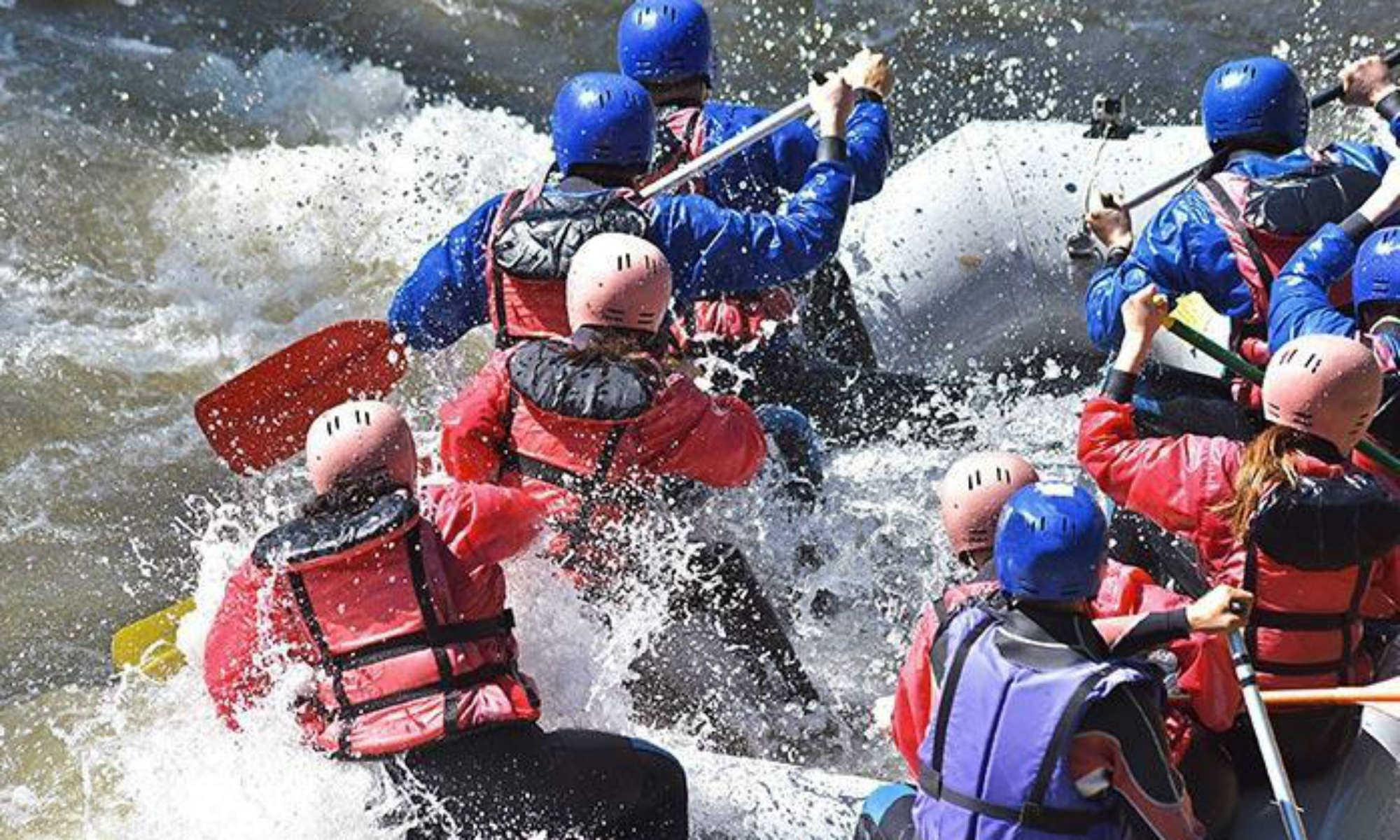 River Rafting auf der Vispa.