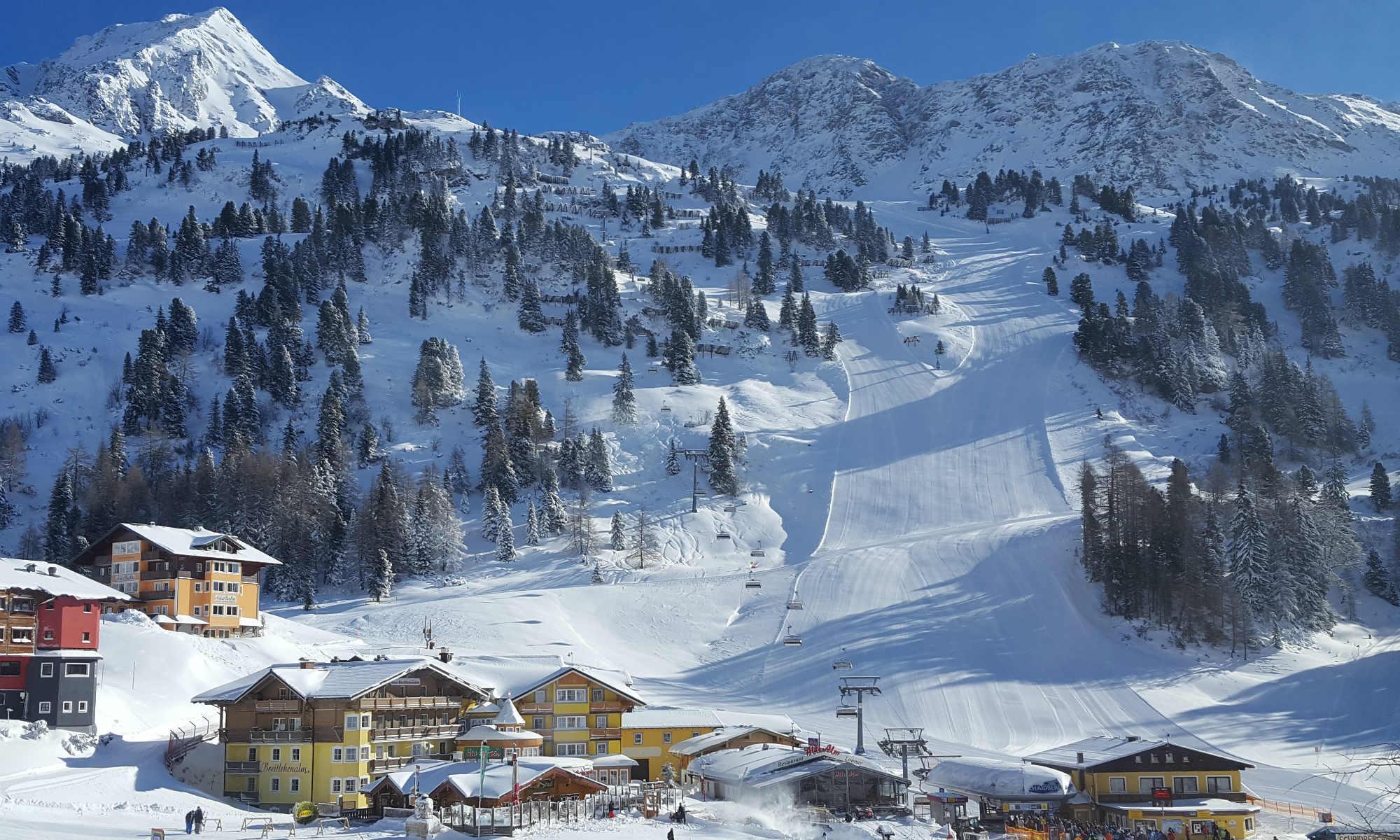 Winterlandschaft in Obertauern