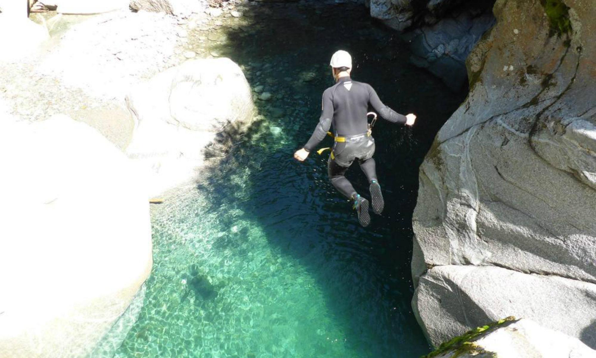 Die Zemmschlucht eignet sich bestens fürs Canyoning in Tirol.