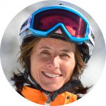 Ski school director Ingrid Salvenmoser.