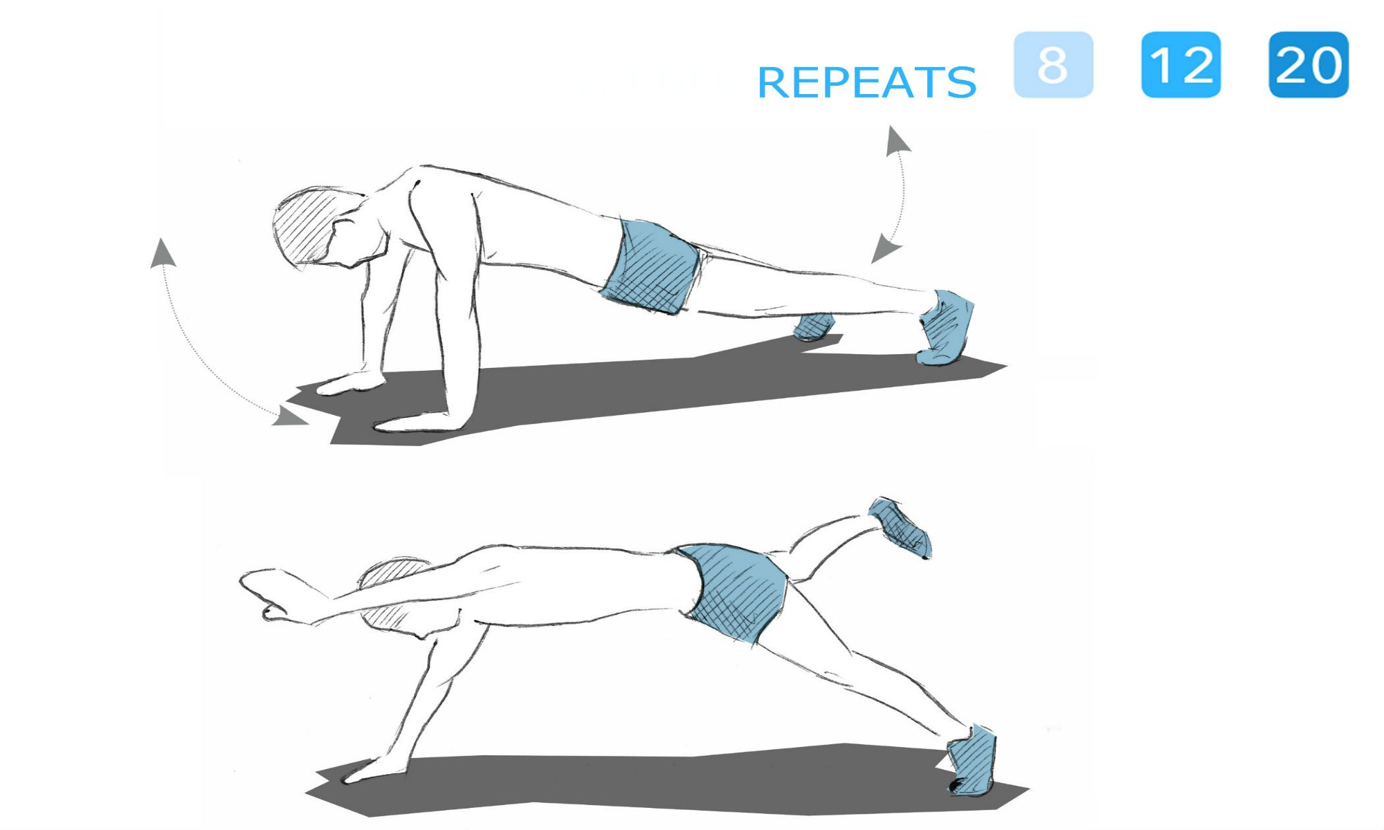 The Superman exercise.